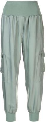 Cinq à Sept Giles silk trousers