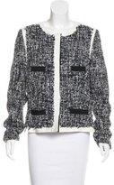 Peter Som Tweed Snap Jacket