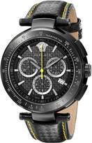 Versace Men's I8C60D008 S009 Mystique IP Chronograph Tachymeter Watch
