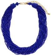 Kenneth Jay Lane Women's Resin Twisted Layer Statement Necklace