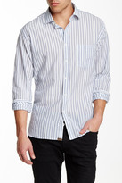 Billy Reid John Long Sleeve Stripe Shirt