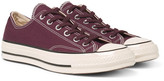 Converse 1970s Chuck Taylor All Star Canvas Sneakers - Burgundy