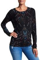 Joie Feronia Printed Cashmere Sweater