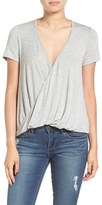Lush Women's Cross Front Tee