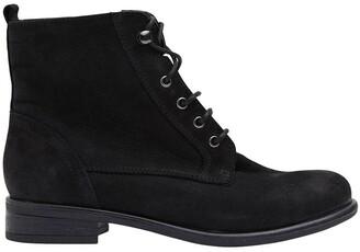 Sandler Badge Black Oily Nubuck Boots