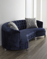 "Haute House Majestic Jayne Tufted Sofa 114"""