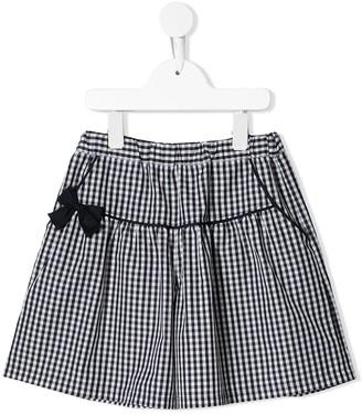 Familiar Gingham-Print Shorts