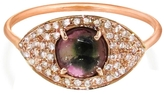 Celine Daoust Full Tourmaline Eye Ring with Diamonds