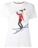 Moncler Women's White Cotton T-shirt.
