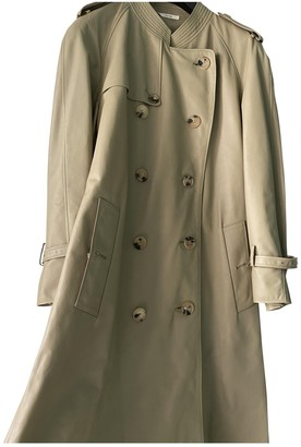 Celine Grey Leather Coat for Women