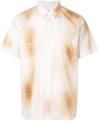 Comme Des Garçons Pre Owned Spray Paint Cotton Shirt