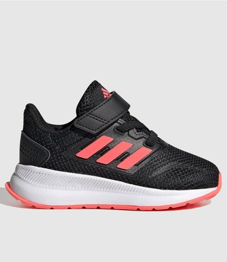 adidas Runfalcon Infant Trainers - Black/Pink