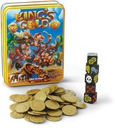 Blue Orange Games King's Gold Dice Game by