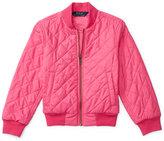 Ralph Lauren Diamond-Quilted Bomber Jacket, Toddler & Little Girls (2T-6X)