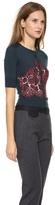 Carven Lace Knit Cardigan