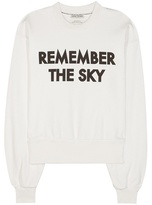 Each X Other Printed Cotton Sweater