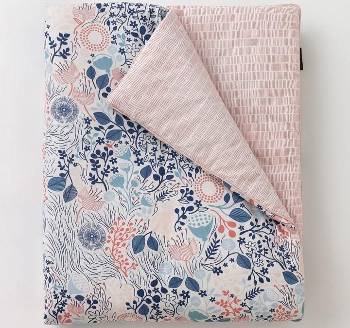 DwellStudio Meadow Powder Blue Play Blanket
