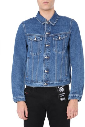 Diesel Fitted Denim Jacket