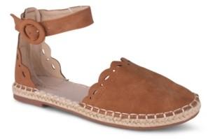 Wanted Kensington Women's Laser Cut Detail Two Piece Espadrille Women's Shoes