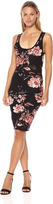 Ali & Jay Women's Dreaming Big Sheath Floral Print Bodycon Dress
