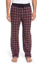 Majestic International Men's Happy Camper Plaid Flannel Lounge Pants