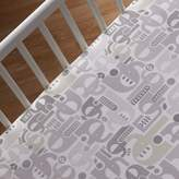 Living Textiles Naturi Elephant Cot Fitted Sheet