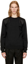 Saint Laurent Black bad Lieutenant Sweater