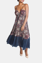Ciel Bohemian Paisley Maxi Dress