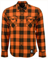 Levi's Men's Cleveland Browns Plaid Barstow Western Shirt
