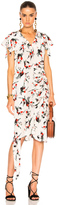 Marni Printed Short Sleeve Dress