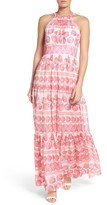Eliza J Petite Women's Print Maxi Dress