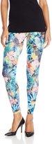 Carnival Women's Full Length Printed Butterknit Extra Soft Microfiber Leggings