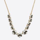 J.Crew Factory Crystal bee necklace