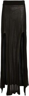 Devon Windsor Kira Slit Hem Maxi Skirt
