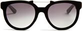 Italia Independent Velvet-coated sunglasses