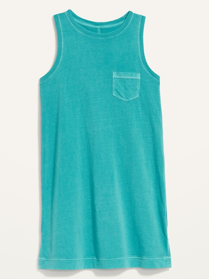 Thumbnail for your product : Old Navy Vintage Specially Dyed Sleeveless Mini T-Shirt Shift Dress for Women