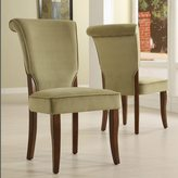 Inspire Q Andorra Sage Velvet Upholstered Dining Chair by Set of 2)