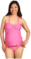 Maternal America Maternity Carrie 2 Piece Bow Tankini Women' Swimwear Set