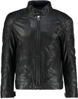 Joop! Lima Leather Jacket Black