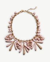 Ann Taylor Disc Charm Statement Necklace