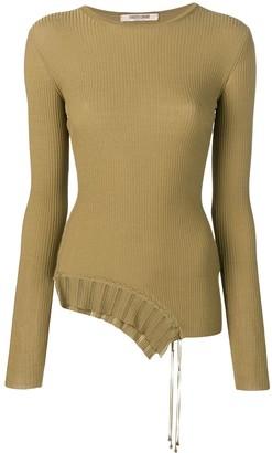 Roberto Cavalli Asymmetric Pullover