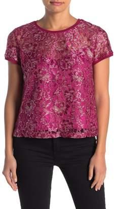 Heartloom Carren Short Sleeve Lace T-Shirt