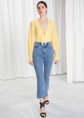 And other stories High Kick Flare Jeans