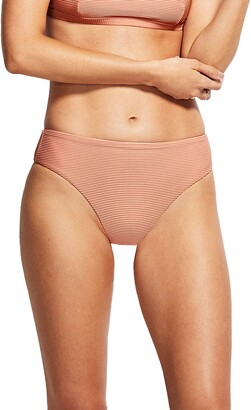 Seafolly Essentials High Waist Bikini Bottoms