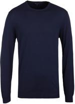 Aquascutum Navy Preston Crew Neck Sweater