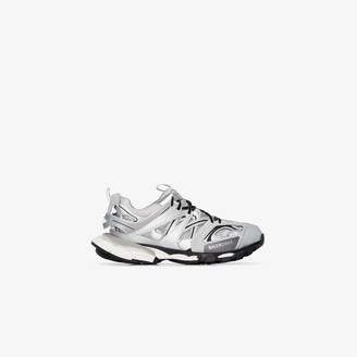Balenciaga silver Track sneakers