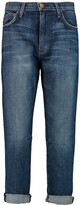 Thumbnail for your product : Current/Elliott The Slouchy Mid-rise Straight-leg Jeans