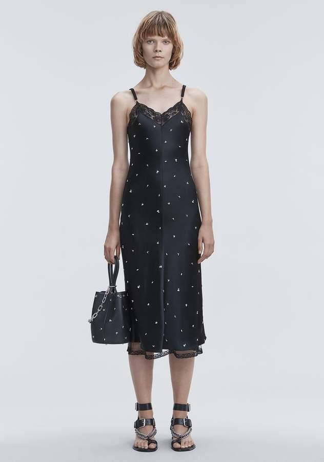 Alexander Wang SATIN SLIP DRESS Long Dress