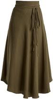 Apiece Apart Rosehip tie-waist skirt