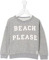 American Outfitters Kids beach please print sweatshirt